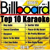 Billboard Top 10 Karaoke: 1960's CD Photo