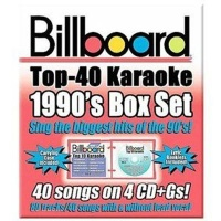 Billboard 1990'S Top 40 Karaoke Box S CD Photo
