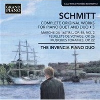 Schmitt: Complete Original Works for Piano Duet and Duo Photo