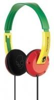 Skullcandy Uprock Rasta Headphones Photo