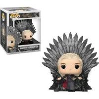 Funko Pop! Deluxe: Game of Thrones - Daenerys Targaryen Sitting on Throne Vinyl Figurine Photo