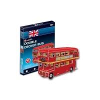 Cubic Fun 3D Puzzle - Double Decker Bus Photo