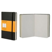 Moleskine Ruled Notebook - 9x14cm - Hard Cover - 192 pages - Black Photo