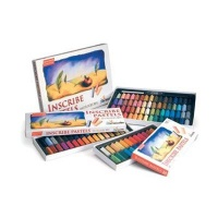 Inscribe Soft Pastel Set - 64 Half Sticks Photo