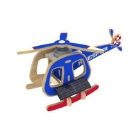 Robotime Solar Powered Helicopter - Blue Photo