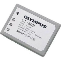 Olympus LI-80B Lithium-Ion 650mAh 3.7V rechargeable battery Li-Ion 3.7V 650 mAh Grey Photo