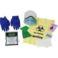 Be Safe Paramedical Body Fluid Response Kit Photo