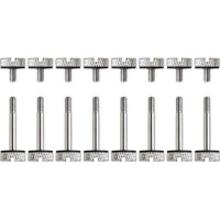 Corsair CC-8900105 8 Sets Of Long & Short Anodized Aluminum Thumbscrews for Crystal Series 570X Series PC case Photo
