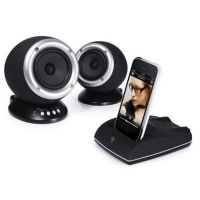 Apple Roth Charlie 2.0 Wireless Dual Speakers with iPod and iPhone Dock Photo