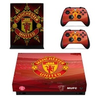 SKIN NIT SKIN-NIT Decal Skin For Xbox One X: Manchester United 2016 Photo