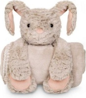 BebedeParis Plush Bunny with Blanket Soft Toy Photo