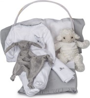 BebedeParis Essential Serenity Baby Gift Basket Photo