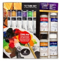 Atelier Interactive Outdoor Artists' Acrylic Paint Plein Air Set Photo