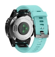 Unbranded Silicone Band for Garmin Fenix 5s/ 5s Plus - Mint Photo