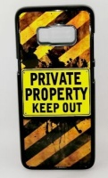 Samsung Lali and Me S8 Phone Cover - Private Property Photo