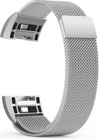 Linxure Milanese Strap for the Fitbit Charge 2 Silver - Large Photo