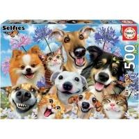 Fun in the Sun Selfie Jigsaw Puzzle Photo