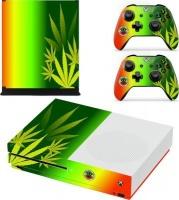SKIN-NIT Decal Skin For Xbox One S: Rasta Weed Photo