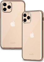 Moshi Vitros mobile phone case 14.7 cm Cover Gold Clear Case for iPhone 11 Pro - Champagne Photo