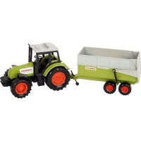 Dickie Toys Farm Series - Claas Tractor and Trailer Photo