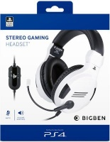 Bigben Interactive Stereo Over-Ear Gaming Headphones For PS4 Photo