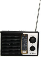 Ultralink Ultra-Link Portable Retro AM/FM Radio with MP3 Playback Photo
