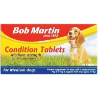 Bob Martin Conditioning Tablets - Medium Strength for Medium Dogs Photo