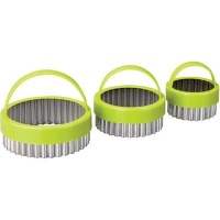 Ibili Round Fluted Cookie Cutters Photo