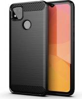 CellTime Xiaomi Redmi 9c Shockproof Carbon Fiber Design Cover - Red Photo