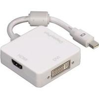 Hama 3-in-1 Mini DisplayPort Adapter for DVI Displayport or HDMI Photo