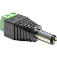 DeLOCK 65487 Adapter DC 5.5 x 2.5mm Male > Terminal Block 2 pin Photo