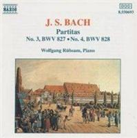 J.S. Bach: Partitas No. 3 BWV827/No. 4 BWV828 Photo