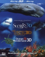 Jean-Michel Cousteau's Film Trilogy in 3D - Sharks / Dolphins And Whales / Ocean Wonderland Photo