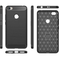Tuff Luv Tuff-Luv Brushed and Carbon Fiber Effect Shockproof Shell Case for Samsung Galaxy A6 Plus Photo