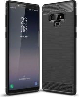 Tuff Luv Tuff-Luv Brushed and Carbon Fibre Effect Shockproof Shell Case for Samsung J8 Photo