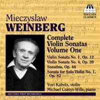 Mieczyslaw Weinberg: Complete Violin Sonatas Photo