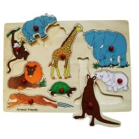 Snookums Wooden Puzzle Photo