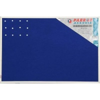 Parrot Felt Info Board with Plastic Frame Photo