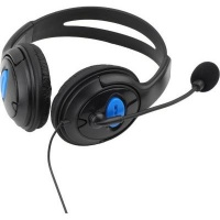 Raz Tech Wired Over-Ear Gaming Headset with Microphone for Playstation 4 and PC Photo