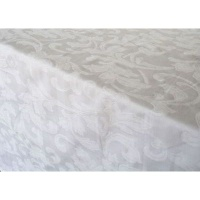 Balducci Paloma Jacquard Damask Tablecloth Photo