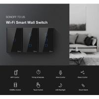 Sonoff 2ch Wi-Fi and RF Smart Light Switch Black Photo