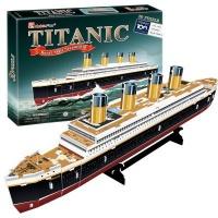 Cubic Fun 3D Puzzle - Titanic Photo