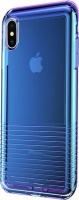 Baseus Colourful Airbag Case for iPhone XS Max - Transparent Blue Photo