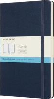 Moleskine Sapphire Blue Notebook Large Dotted Hard Photo