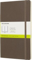 Moleskine Earth Brown Notebook Extra Large Plain Soft Photo