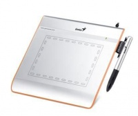 """Genius - 4"""" x 5.5"""" Graphic Tablet for Painting & Drawing EasyPen i405 - Gold Photo"""