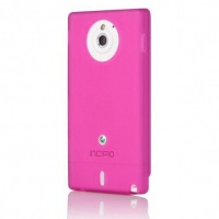 Sony Incipio NGP for Xperia Sola - Transluscent Pink Cellphone Cellphone Photo