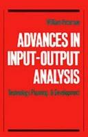 Advances in Input-Output Analysis Photo