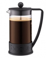 Bodum - Brazil Coffee Press 8-Cup Coffee Maker - Black Photo
