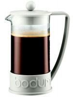 Bodum - Brazil Coffee Press 8-Cup Coffee Maker - White Photo